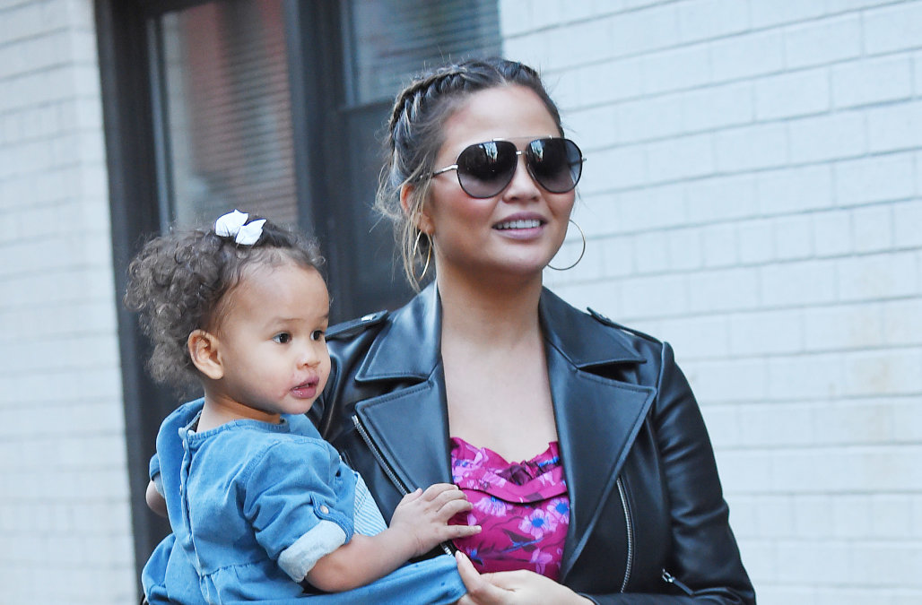 Celebrities with their kids