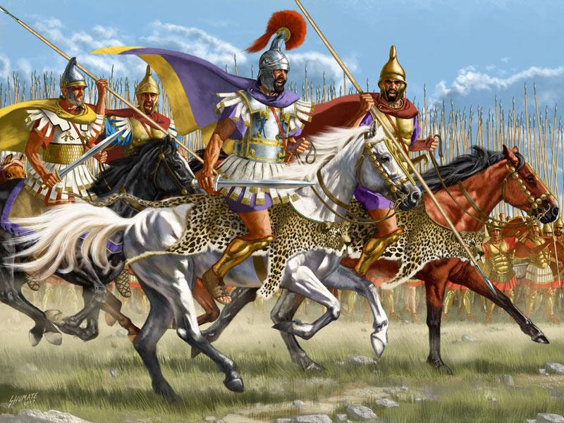 Александр македонский оружие