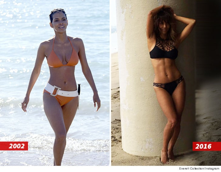 Halle berry body type