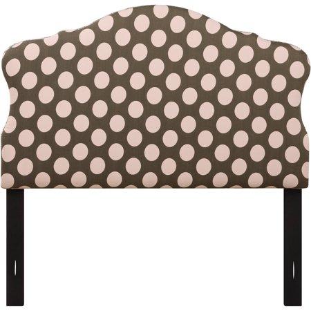 Upholstered headboard pink