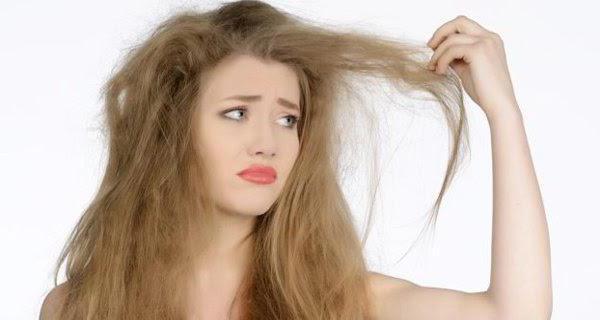 Пушистые длинные волосы