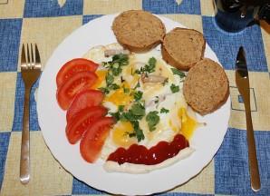Яйца с сыром плавленным сыром