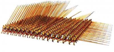 Построение македонской фаланги