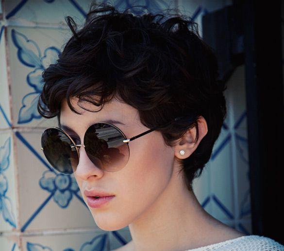 стрижка шапочка на вьющиеся волосы