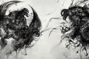 Venom Vs Riot Artwork 8k Wallpaper