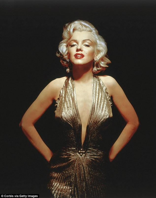 Heartache: Marilyn passed away at 36 in 1962 from an apparent drug overdose