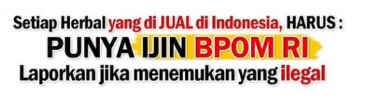 izin dari BPOM
