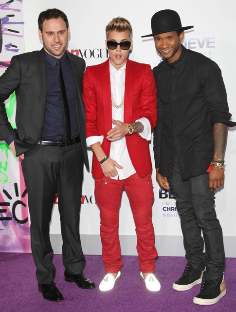 Usher how tall