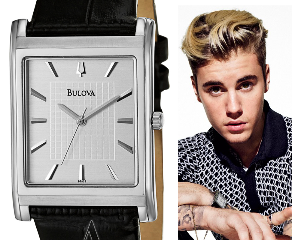 Celebrities wearing bulova watches