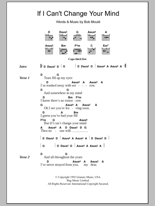 Change carrie underwood chords