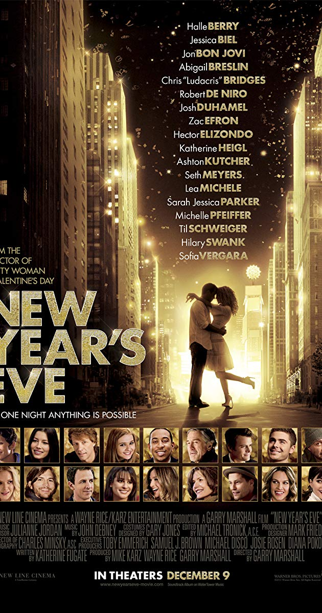 Celebrities new years 2012