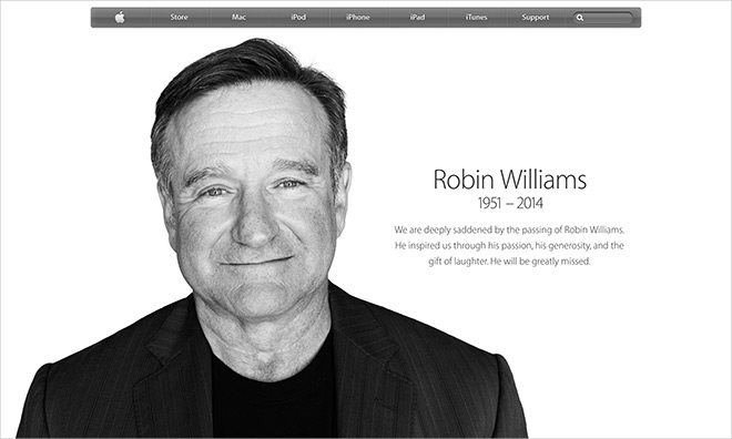 Ipad commercial robin williams