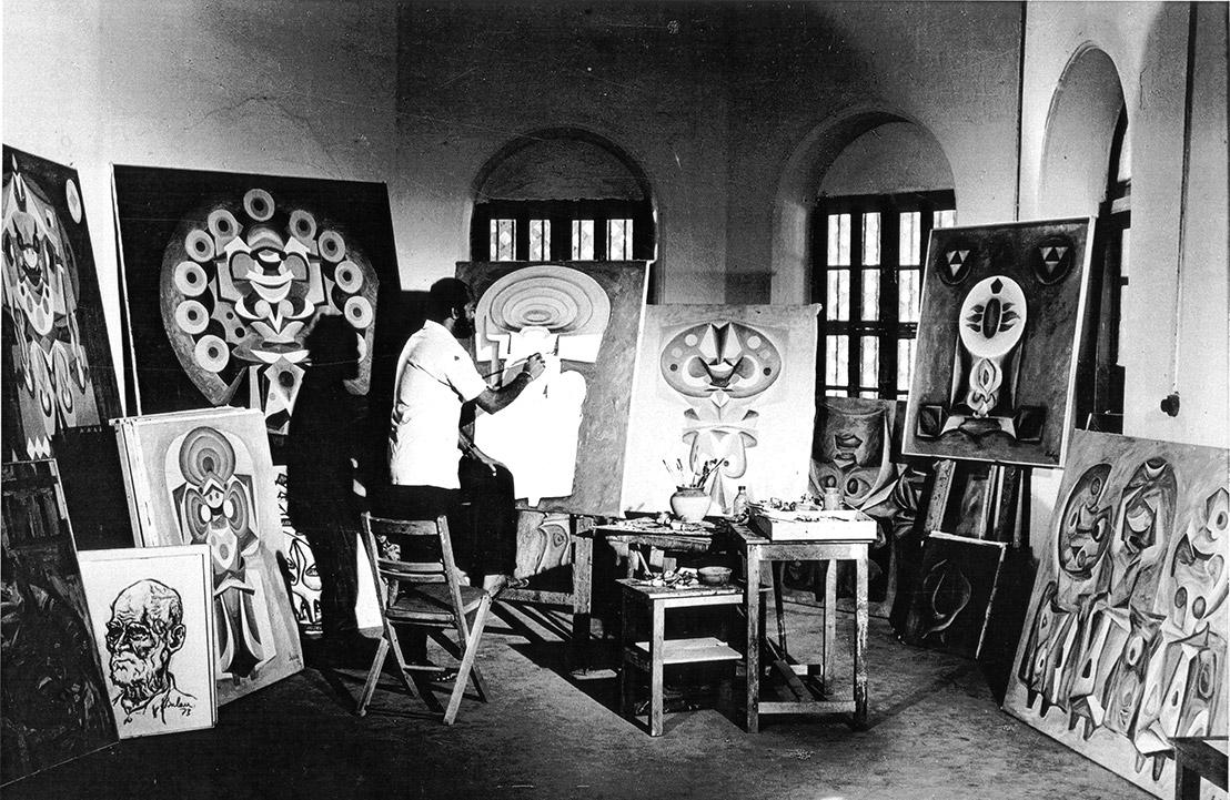 Painting Studio, 1974