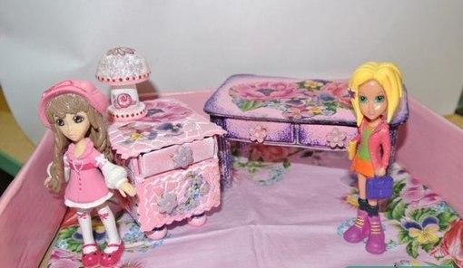 Мебель для кукол своими руками., фото № 8