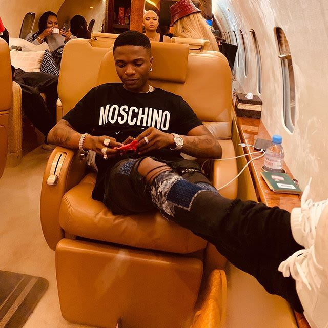 Wizkid New Year celebration with Cameroon di Biya's cause controversy