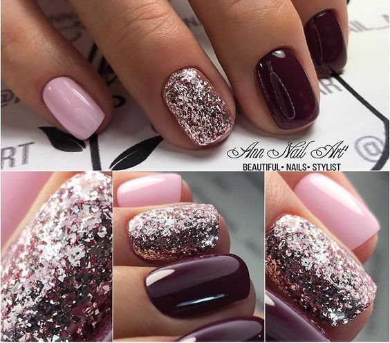 Cute fall colors for nails