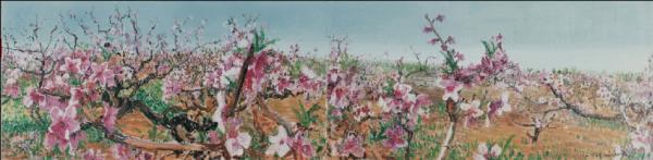 Imitating Xia Gui's Pure Views, 80 x 320cm