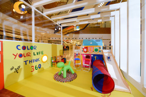 Design for Kids Room for Home Square Shopping Mall, Color Your Life, Think 360 by Jlee 360