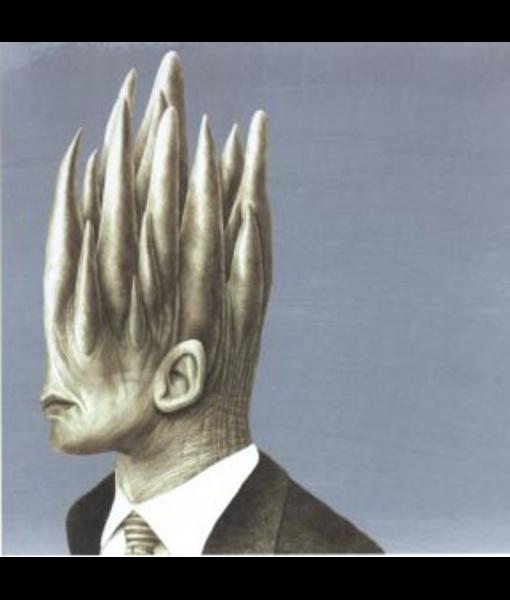 Jose Molina - King, 40 x 40 cm