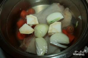 Суп солянка с курицей рецепт
