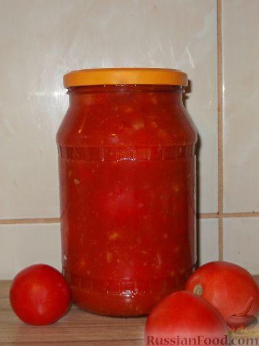 Рецепт помидоры в собственном соку с чесноком и хреном