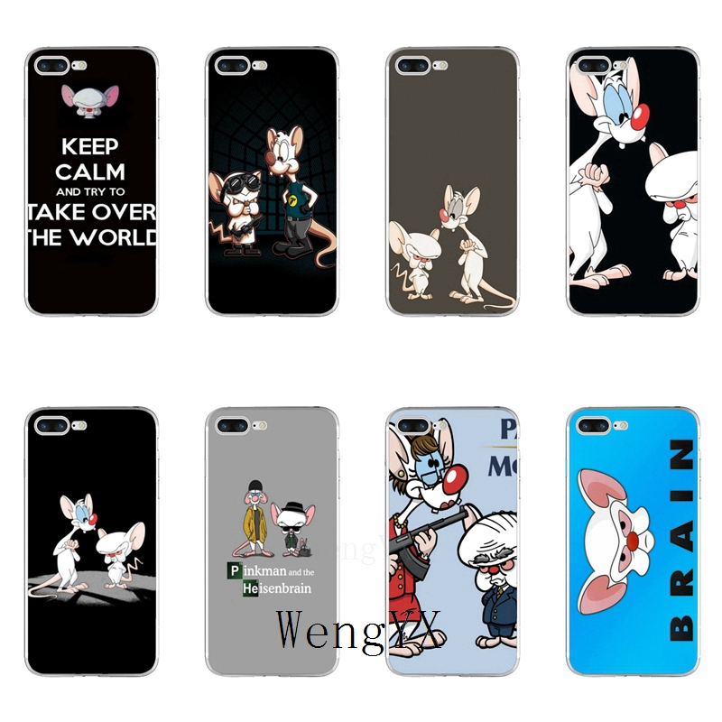 Pinky and the brain iphone case