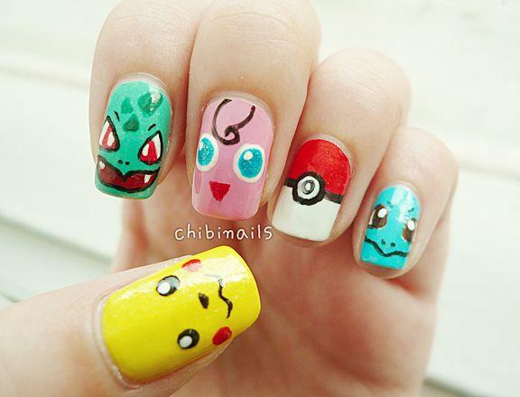 Nails art games