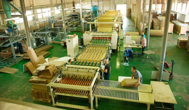 Оборудование для производства картона