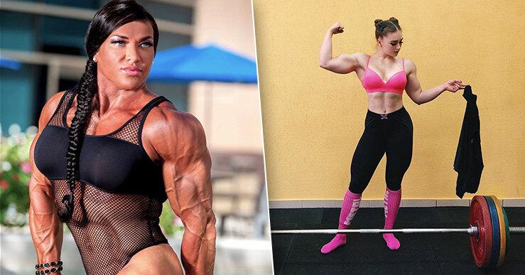 Фитнес модель женщины