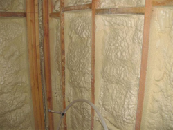 A+ Insulation - spray foam insualtion installed