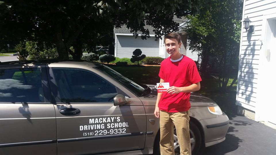Mackay's Driving School - Completed Driving Class