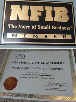Morris County Appliance Repair - NFIB The Voice of Small Business Member