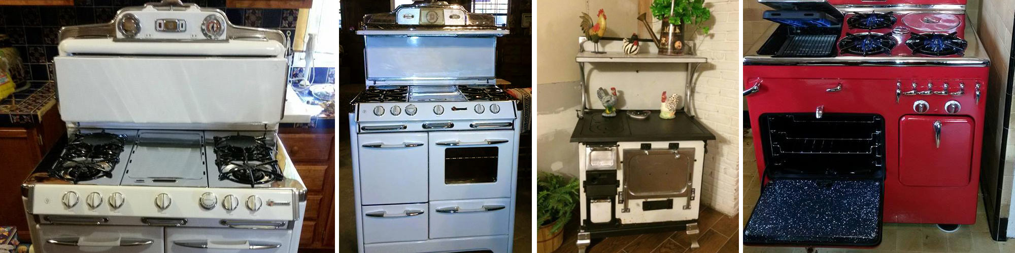 Vintage Appliance Restoration - Restored Appliances