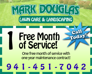 Free month of service coupon