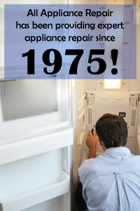 All Appliance Repair - Since 1975