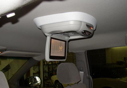 Extreme Audio - overhead monitor installed