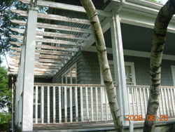 Randymars Painting and Contractors - Exterior Painting - Porch Before