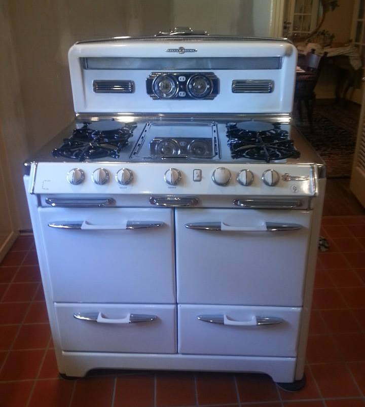 nice Kitchen Appliances Dallas Tx #8: Antique Stove Restoration of Texas - Chambers Fireless Oven