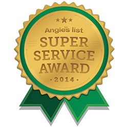 Yocum Shutters and Blinds - Angie's List Super Service Award 2014