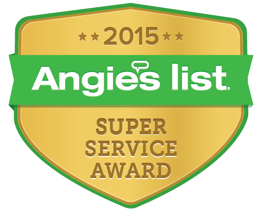 Yocum Shutters and Blinds - Angie's List Super Service Award 2015