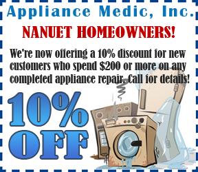 Appliance Medic - Coupon offer for Nanuet NY
