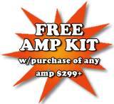Audio Ace - Free Amp Kit Deal