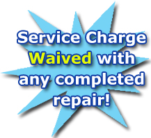 #1 Appliance Repair - Service Charge Waived