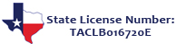 TX State License Number