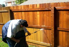 Spruce It Up Cleaning Services, LLC - Power Washing Fence
