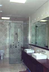 Jet Glass and Mirror - Custom Cut Bathroom Shower Glass