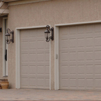 McMurray Garage Doors - Home Two Car Garage Doors
