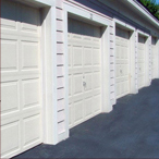 McMurray Garage Doors - Line Of Single Garage Doors