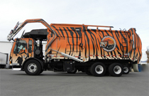 Tiger Sanitation LLC - Junk Hauling Truck