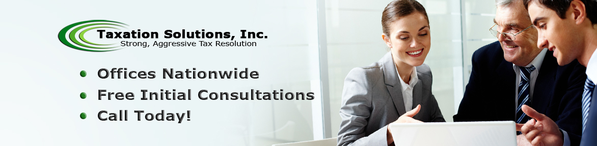 Taxation Solutions Banner Logo